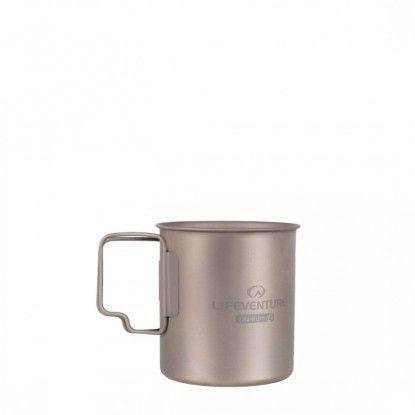 Puodelis Lifeventure Titanium Mug 0.4L
