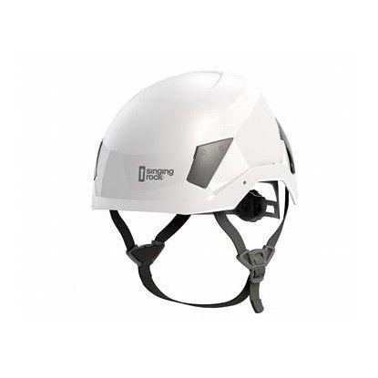 Singing Rock Flash white helmet