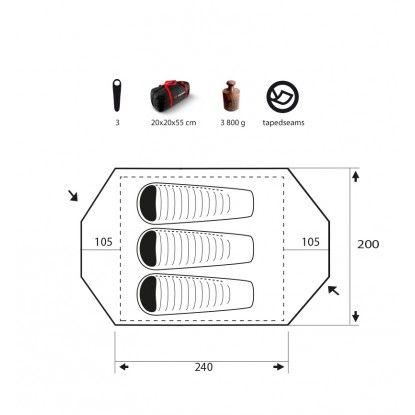 Palapinė Trimm Vision DSL