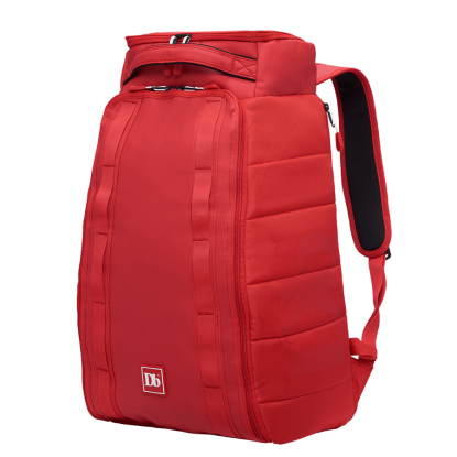 Kuprinė Douchebags The Hugger 30L scarlet red