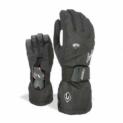 Level Butterfly W black glove