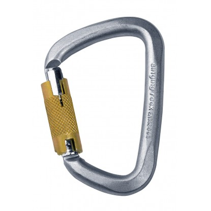 Karabinas Singing Rock D Steel Triple Lock