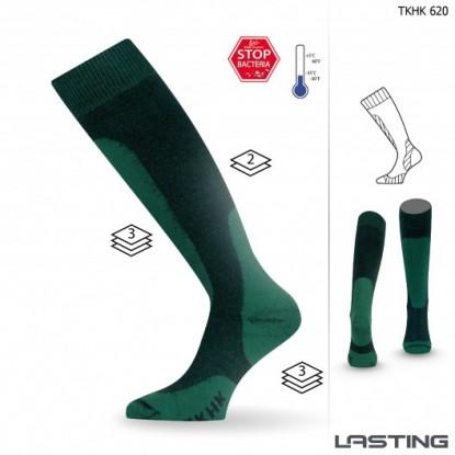 Šiltos turistinės kojinės Lasting TKHK 620