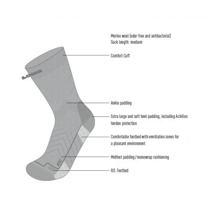 Turistinės kojinės Lowa All...