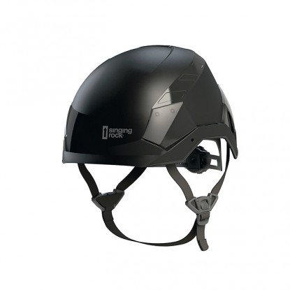Singing Rock Flash Industry black helmet