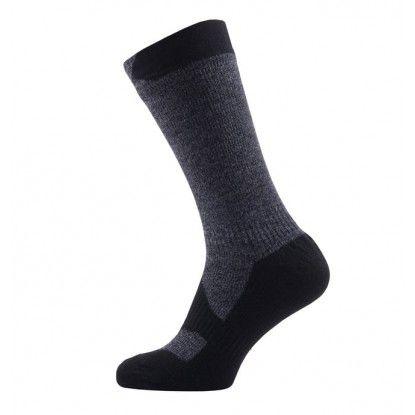 Neperšlampamos kojinės SealSkinz Walking Thin Mid