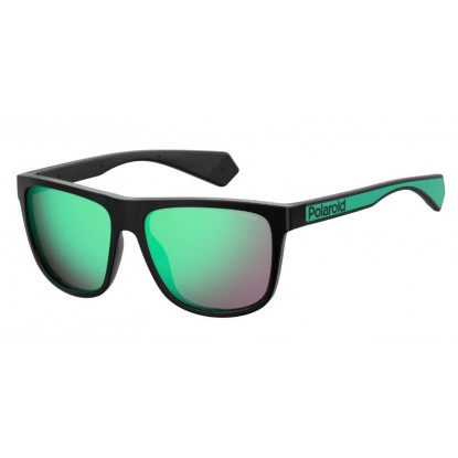 Polaroid 6062/S Black Green sunglasses