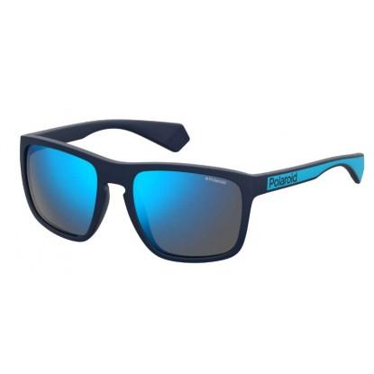 Polaroid 2079/S Matte Blue sunglasses