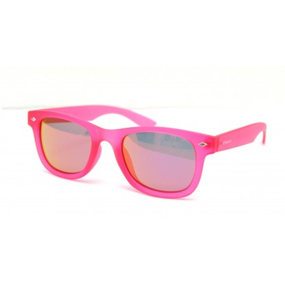 Polaroid PLD 8009/N pink junior sunglasses