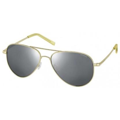 Polaroid 6012/N Gold sunglasses
