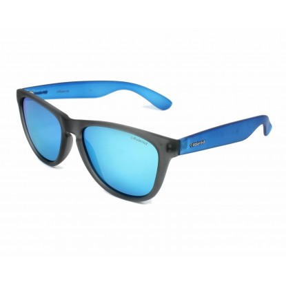 Polaroid P8443 Grey Azure sunglasses