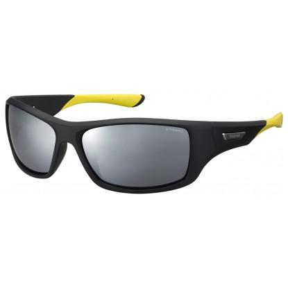 Polaroid 7013/S Black Yellow sunglasses