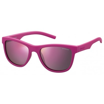 Polaroid PLD 8018/S pink junior sunglasses