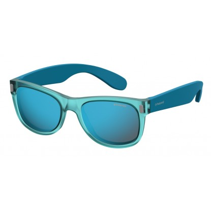 Akiniai Polaroid Kids P0115 Crystal Azure sunglasses