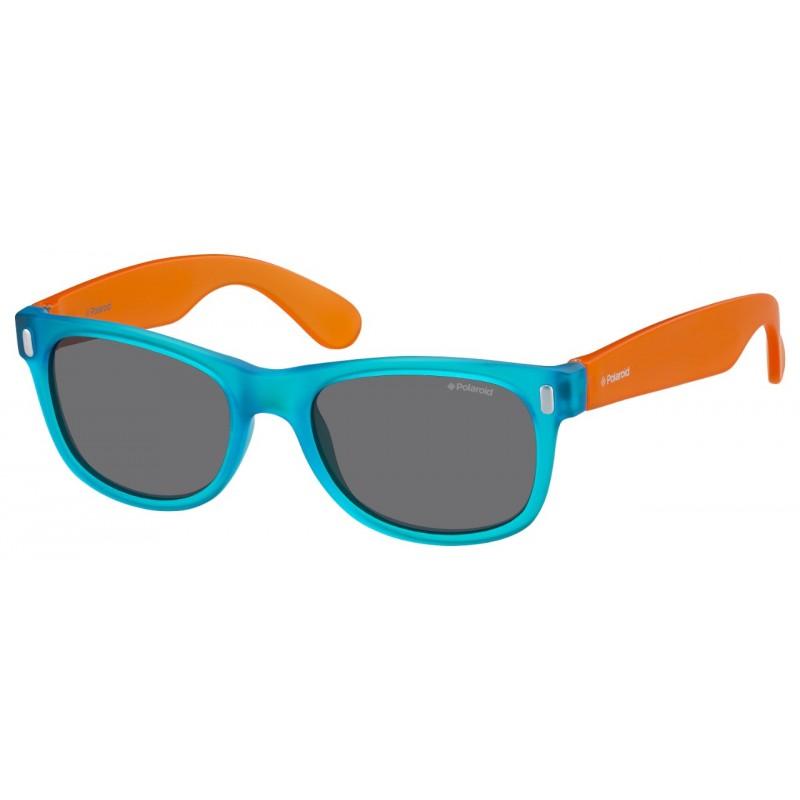 Vaikiški akiniai Polaroid Kids P0115 Blue Orange
