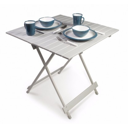 Stalas Kampa Leaf Folding Slat Table Med