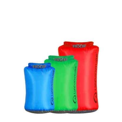Neperšlampamas maišas Lifeventure Ultralite Dry Bag Multi pack
