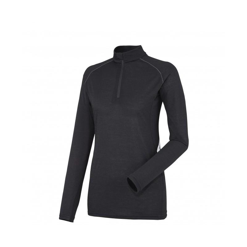 Termo marškinėliai Millet LD C Wool Blend 150 ZIP LS