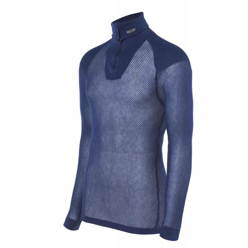 Termo marškinėliai Brynje Super Thermo Zip Polo Shirt