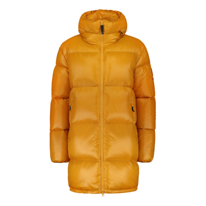 Zo-On Flatey Women Down Coat ochre yellow