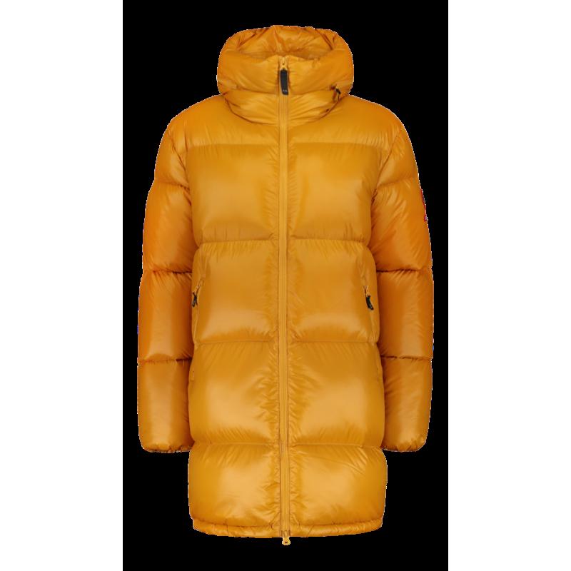 Striukė Zo-On Flatey Women Down Coat ochre yellow