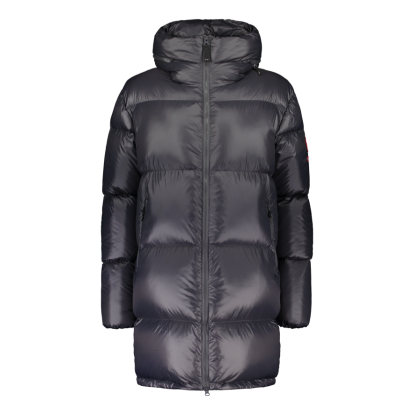 Striukė Zo-On Flatey Women Down Coat iron grey