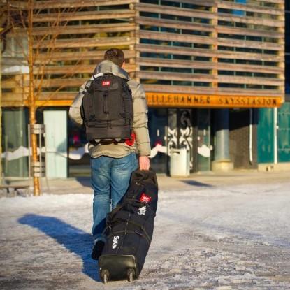 Snokart 2 Ski Roller Bag...
