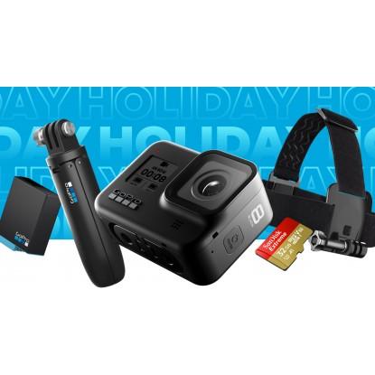 Rinkinys : kamera GoPro HERO 8 Black + aksesuarai dovanų !!!