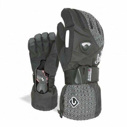 Level Butterfly W dark glove