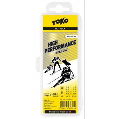 Toko High Performance Hot Wax yellow