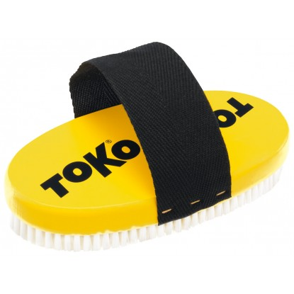 Bazinis šepetys Toko Base Brush oval Nylon with strap