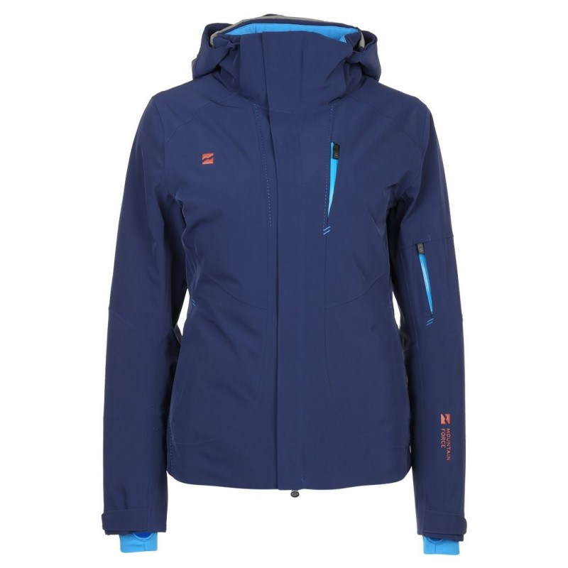 The new Sonette Jacket from Mountain Force is pretty clever. From the  outside it is designed like a classic ski jacket 98ac4b29f