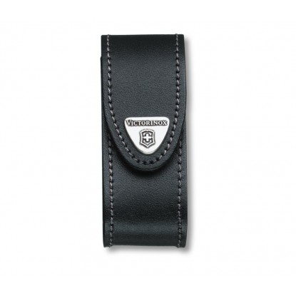 Pouch Victorinox Black Leather