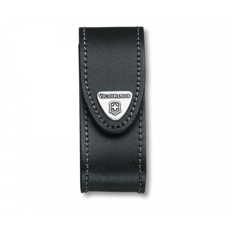 Dėklas Victorinox Black Leather