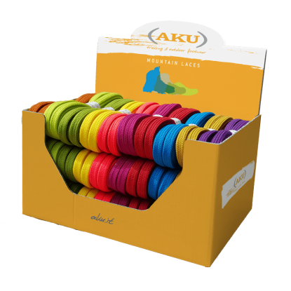 AKU Flat laces140cm assorted