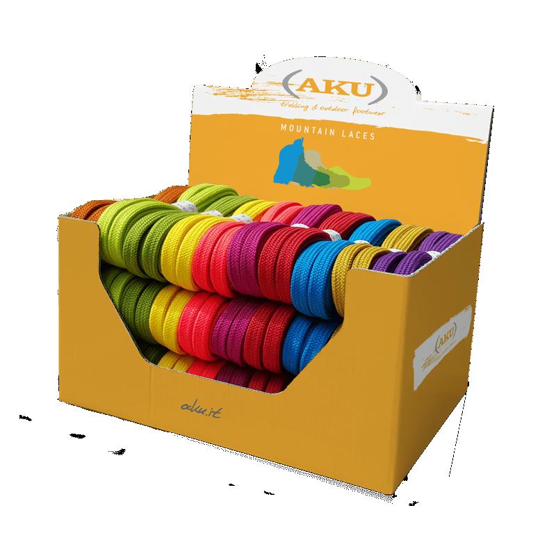 Raišteliai AKU Flat 140cm įvairių spalvų