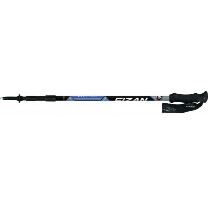 Fizan Prestige A/S blue trekking poles with antishock system