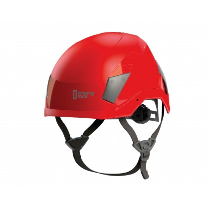 Singing Rock Flash Access red helmet