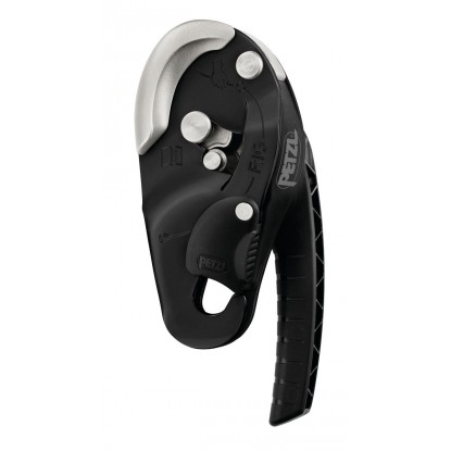 Petzl Rig black self-braking descender