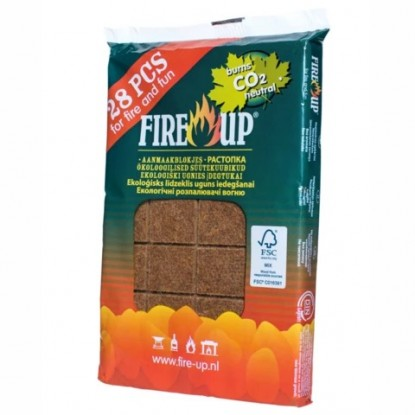 Firelighters tablet FIRE UP, 28pcs