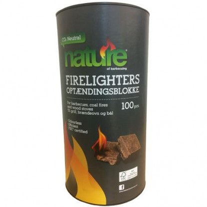 Firelighters tablet NATURE, 100pcs