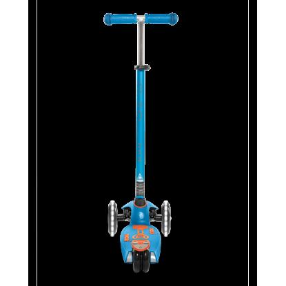 Paspirtukas Maxi Micro Deluxe Caribbean Blue LED