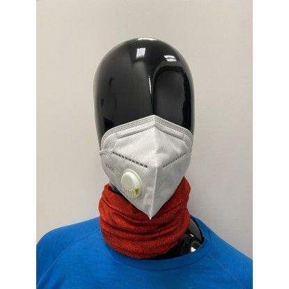 Apsauginė veido kaukė su kvėpavimo ventiliumi KN95 CE