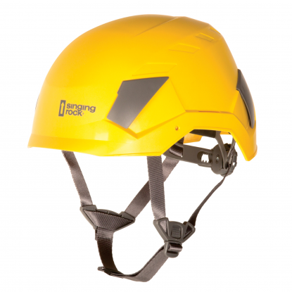Singing Rock Flash Industry yellow helmet
