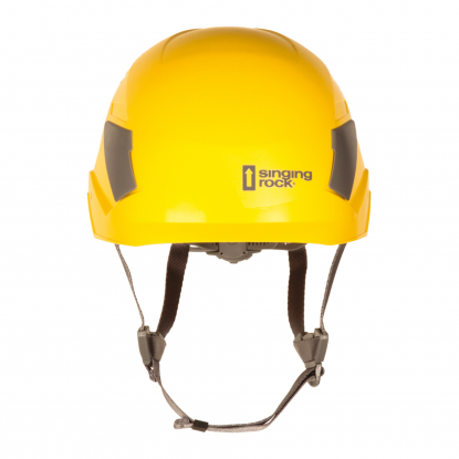 Singing Rock Flash yellow helmet