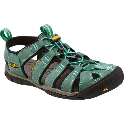 Keen Clearwater CNX Leather W mineral blue / yellow