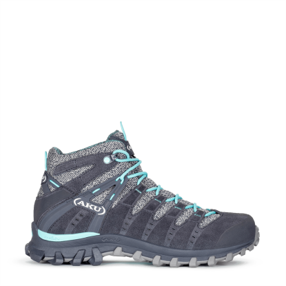 AKU Alterra Lite Mid GTX W's  COD. 714 - 274 Anthracite-Light Blue