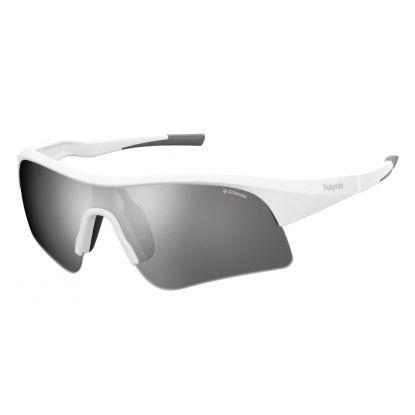 Polaroid 7024/S white sunglasses