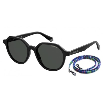 Polaroid 6111/S black sunglasses