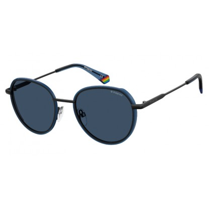 Polaroid 6114/S blue sunglasses